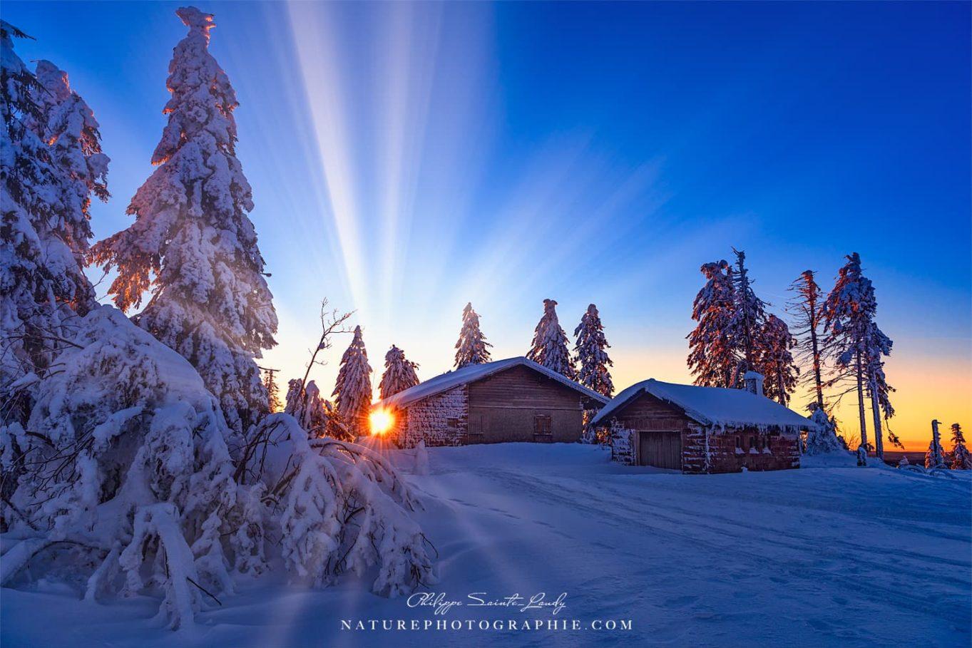 Rays of Light on the Summit