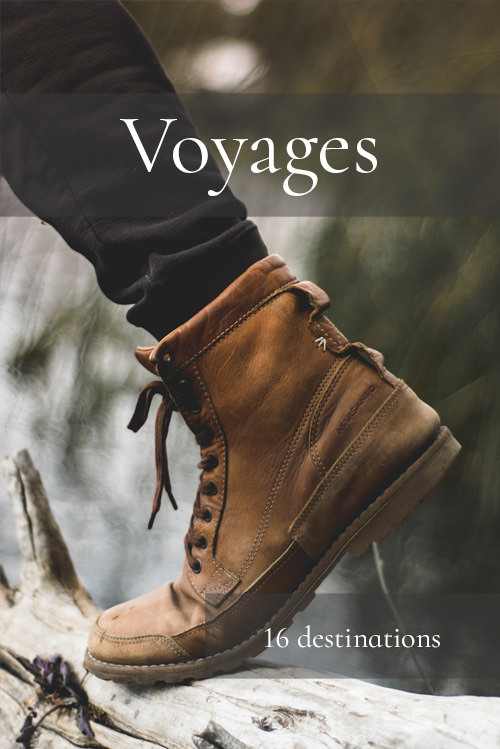 Voyages - 16 destinations