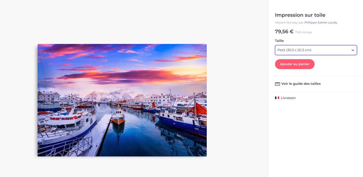 Vibrant Norway sur Redbubble