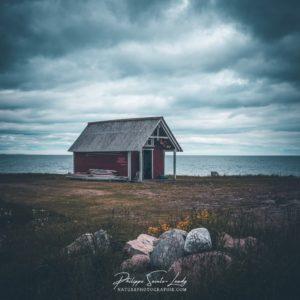 Cabane de pêche en Estonie
