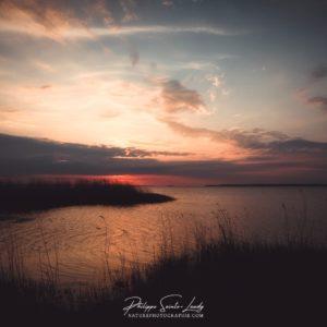 Coucher de soleil Estonien