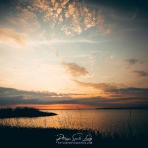Coucher de soleil en Estonie