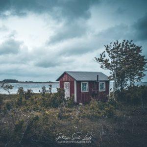 Baraque de pêche en Estonie