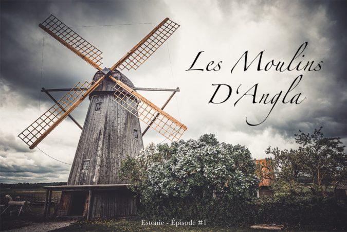 Les moulins d'Angla en Estonie