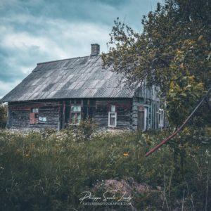 Ferme abandonnée en Estonie
