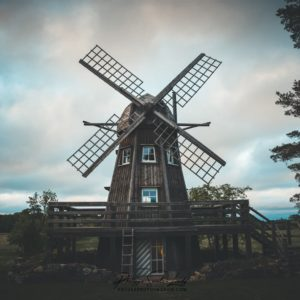 Moulin en Estonie