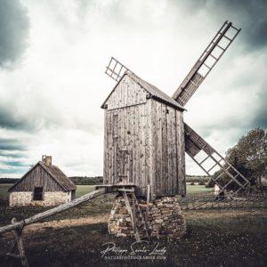 Ambiance chargée sur les moulins à vent d'Angla