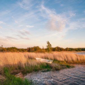 Fin de journée à Mahu en Estonie devant un paysage bucolique