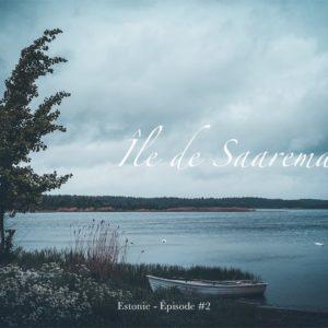 île de Saaremma en Estonie - Vue sur la mer Baltique