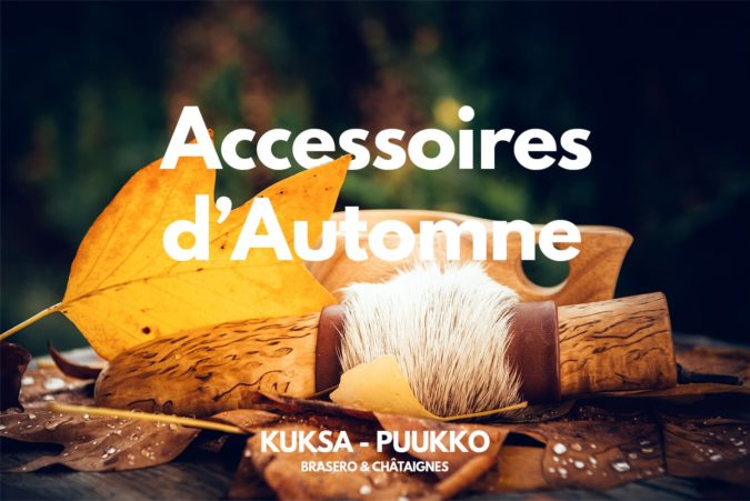 Kuksa et puukko, accessoires d'automne