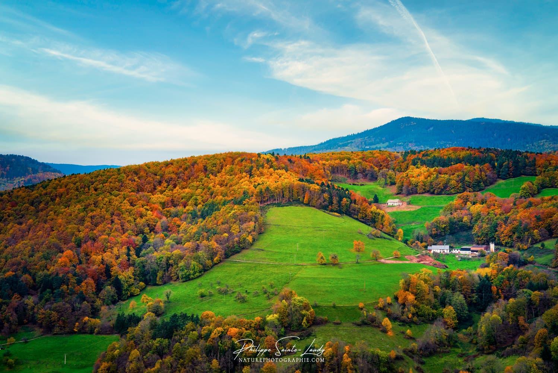 Couleurs d'automne dans les Vosges
