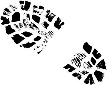 Empreinte de chaussure