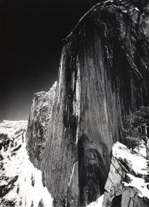 Monolith, the Face of Half Dome © Ansel Adams