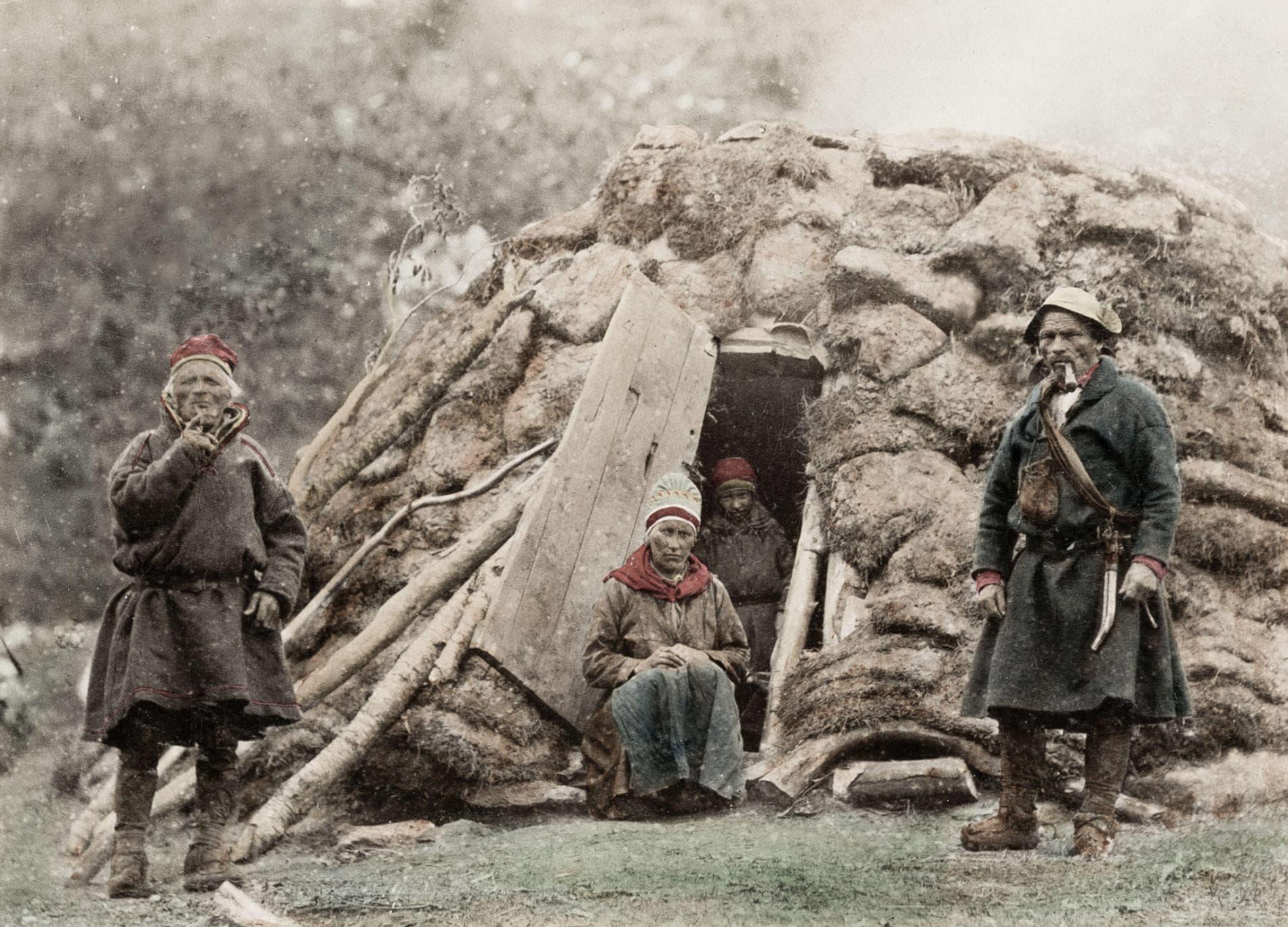 Photo du peuple Sami vers 1890