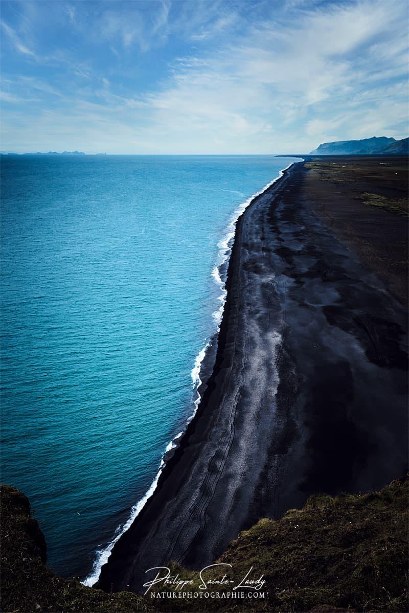 Plage noire d'Islande - Reynisfjara