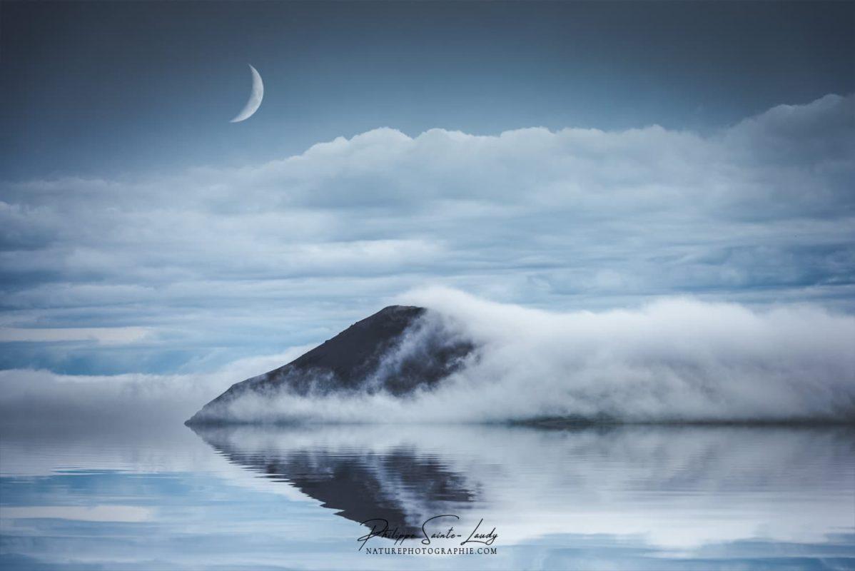 Paysage onirique d'Islande