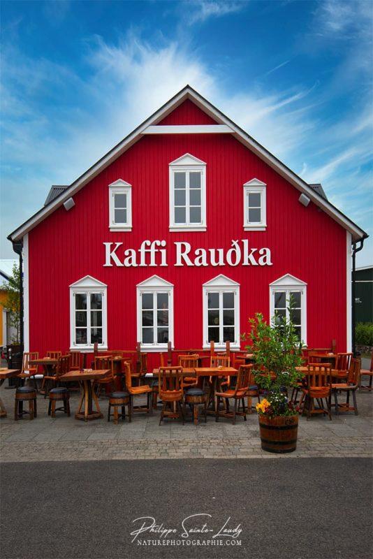 Kaffi Raudka - Islande