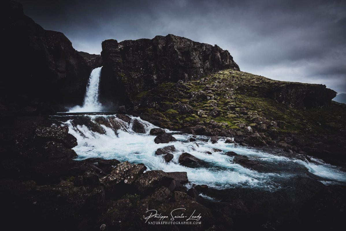 Cascade d'Islande