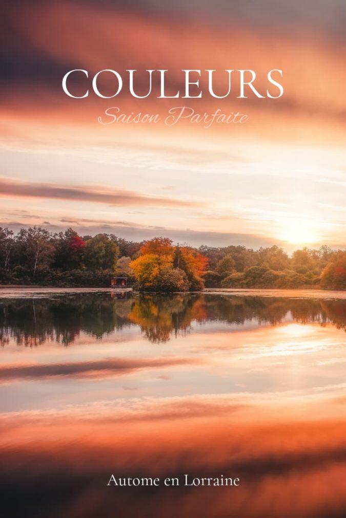 Les couleurs de l'automne en Lorraine