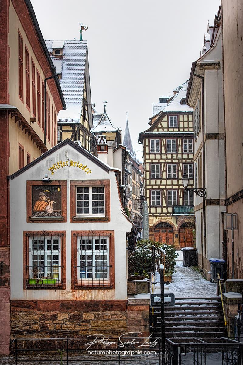 Impasse à Strasbourg