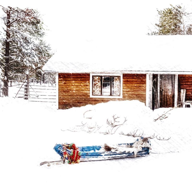 Neige en Norvège