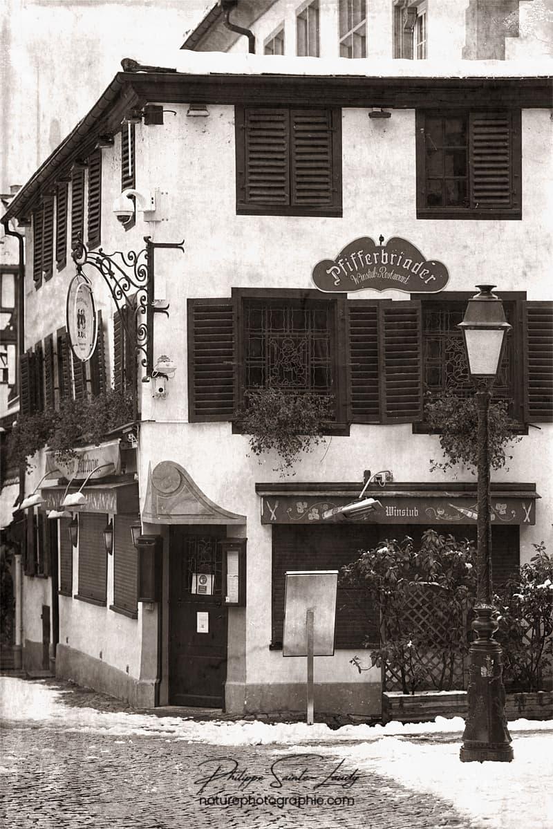 Le restaurant Pfifferbriader à Strasbourg