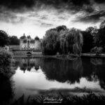 Château de Sercy en noir et blanc
