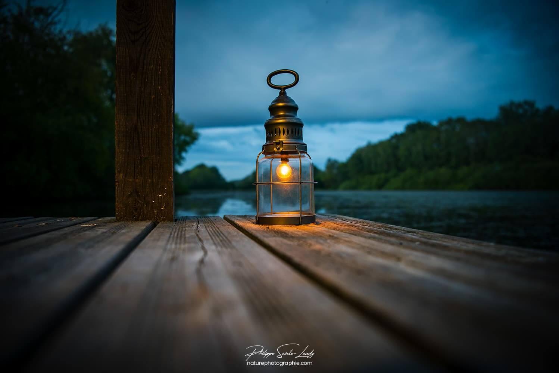 Lanterne allumée